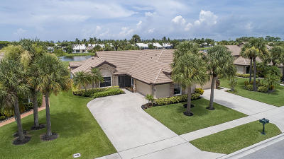 boynton beach Single Family Home For Sale: 8201 Cassia Drive