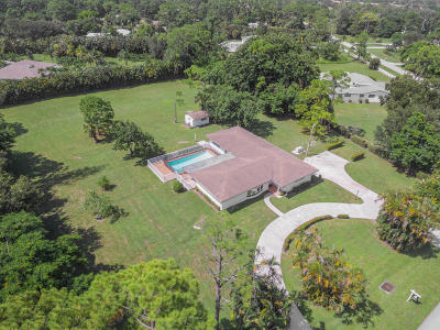 Palm Beach Single Family Home For Sale: 4739 Square Lake Drive