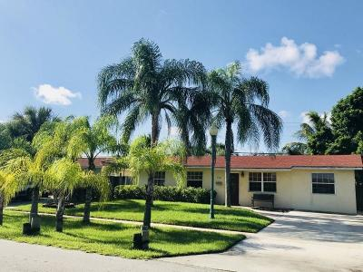 Palm Beach Gardens Single Family Home For Sale: 3780 Bahama Road