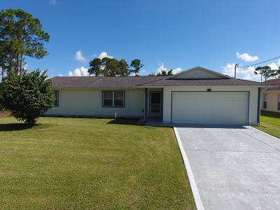 Port Saint Lucie Single Family Home For Sale: 1250 SW Emerald Avenue