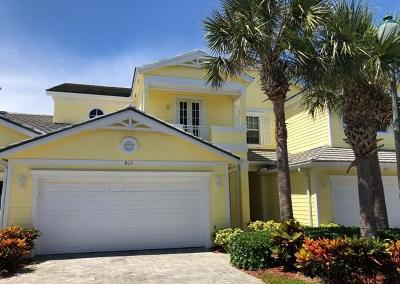 Fort Pierce Townhouse For Sale: 803 Mariner Bay Boulevard
