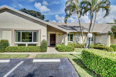 Delray Beach Single Family Home For Sale: 740 Lago Road