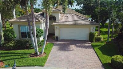 Lake Worth Single Family Home For Sale: 7784 Bonita Villa Bay