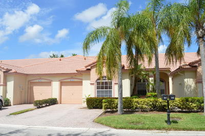 Boca Raton Single Family Home For Sale: 21111 Via Solano