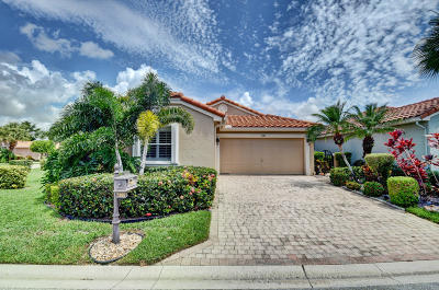 Boynton Beach Single Family Home Contingent: 7385 Chorale Road