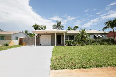 Boynton Beach Single Family Home For Sale: 165 SE 27th Court