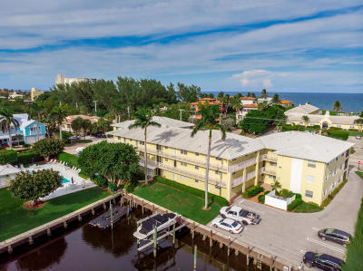 Delray Beach Condo For Sale: 1700 S Ocean Boulevard #6