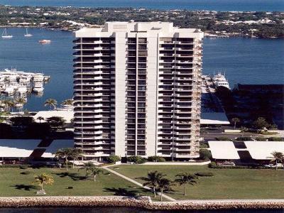 North Palm Beach Condo For Sale: 115 Lakeshore Drive #Ph-46