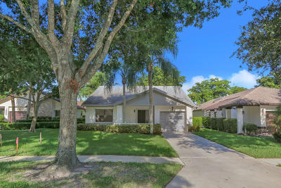 boynton beach Single Family Home For Sale: 10559 Fern Tree Way