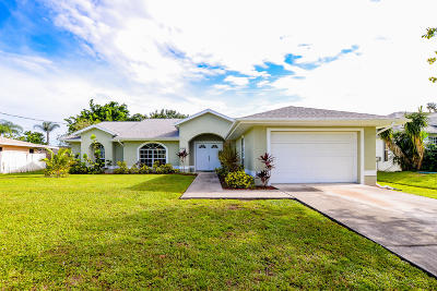 Port Saint Lucie FL Single Family Home For Sale: $207,900