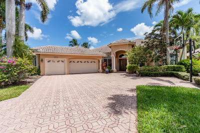 Boca Raton Single Family Home For Sale: 21680 Fall River Drive
