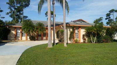 Port Saint Lucie, Saint Lucie West Single Family Home For Sale: 2266 SE SEafury Lane