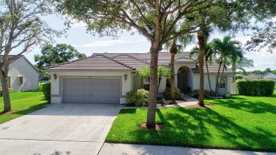Coconut Creek Single Family Home For Sale: 7552 NW 47th Terrace