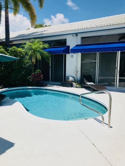 Boca Raton Single Family Home For Sale: 3648 Mykonos Court