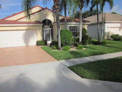 Boynton Beach Single Family Home For Sale: 9809 Arbor View Drive S
