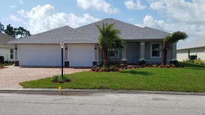 Port Saint Lucie Single Family Home For Sale: 250 SW Vista Lake Drive