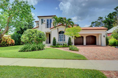 Delray Beach FL Single Family Home For Sale: $1,895,000