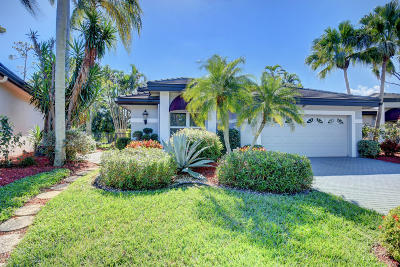 Boca Raton Single Family Home For Sale: 5433 Steeple Chase
