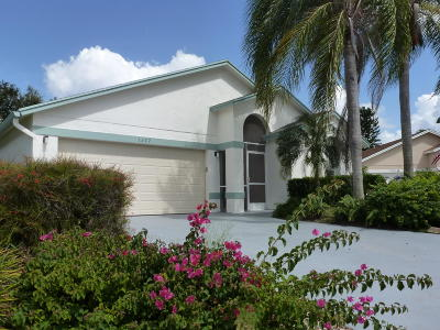 Wellington Single Family Home For Sale: 1372 Waterway Cove Drive