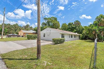 West Palm Beach Multi Family Home For Sale: 206 Ethelyn Drive