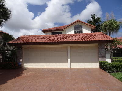 Boca Raton Single Family Home For Sale: 21669 Town Place Drive