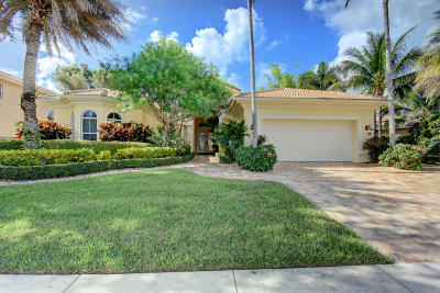 Delray Beach Single Family Home For Sale: 8047 Laurel Ridge Court