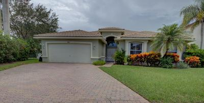 Lake Worth Single Family Home For Sale: 5886 Bay Hill Circle