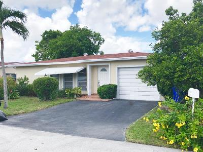 Deerfield Beach Single Family Home For Sale: 4921 NW 15th Avenue