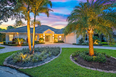 Palm Beach Gardens Single Family Home For Sale: 7501 Marsh Cove