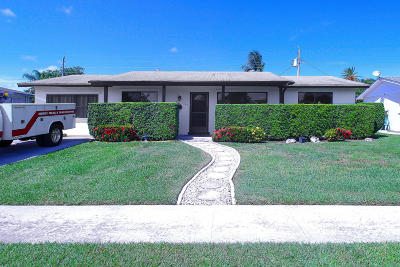 Palm Beach Gardens Single Family Home For Sale: 3149 Capri Road