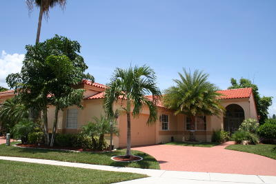 Boca Raton Single Family Home For Sale: 8041 Nadmar Avenue
