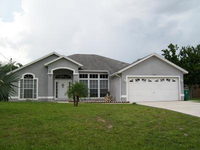 Port Saint Lucie, Saint Lucie West Single Family Home For Sale: 1698 SW Flint Street
