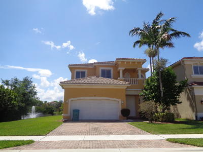 Boynton Beach Single Family Home For Sale: 47 Country Lake Circle