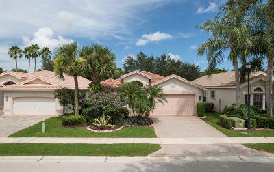 Delray Beach Single Family Home For Sale: 7030 Prado Lake Drive