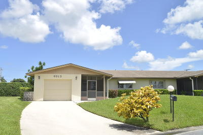 Delray Beach Single Family Home For Sale: 6013 Stanley Lane