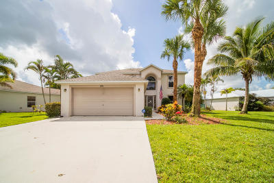 Port Saint Lucie Single Family Home For Sale: 251 SW Panther Trace