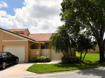 Palm Beach Gardens FL Townhouse For Sale: $354,900