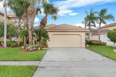 Royal Palm Beach Single Family Home For Sale: 118 Prestige Drive