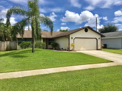 West Palm Beach Single Family Home For Sale: 5166 El Claro Circle