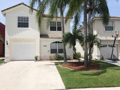 Lake Worth Single Family Home For Sale: 6819 Big Pine Key Street