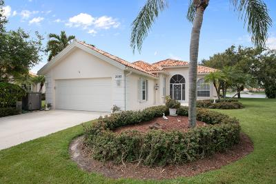 West Palm Beach Single Family Home For Sale: 2505 Kittbuck Way