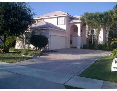 Boca Raton Single Family Home Contingent: 18488 Old Princeton Lane