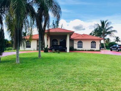 Miramar Single Family Home For Sale: 3450 SW 141 Avenue