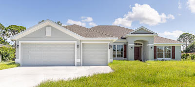 Port Saint Lucie Single Family Home For Sale: 294 SW Statler Avenue
