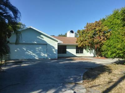Vero Beach Single Family Home For Sale: 4160 48th Place