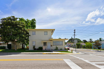 Lake Worth Multi Family Home For Sale: 602 A Street #1
