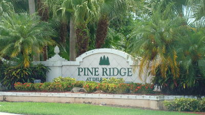 Delray Beach Condo For Sale: 13791 Oneida Drive #A3