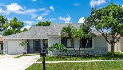 Boca Raton Single Family Home For Sale: 21585 Woodstream Terrace