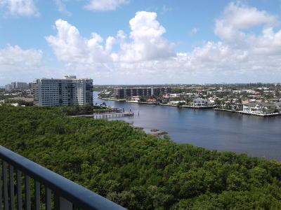 Palm Beach County Rental For Rent: 3720 S Ocean Boulevard #1004