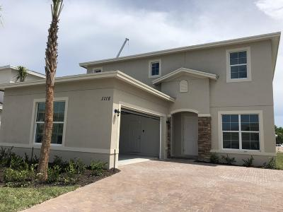 Port Saint Lucie Single Family Home For Sale: 1115 NW Demedici Road